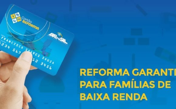 Cartão Reforma