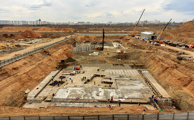 Guia de obra: fundações profundas para edifícios