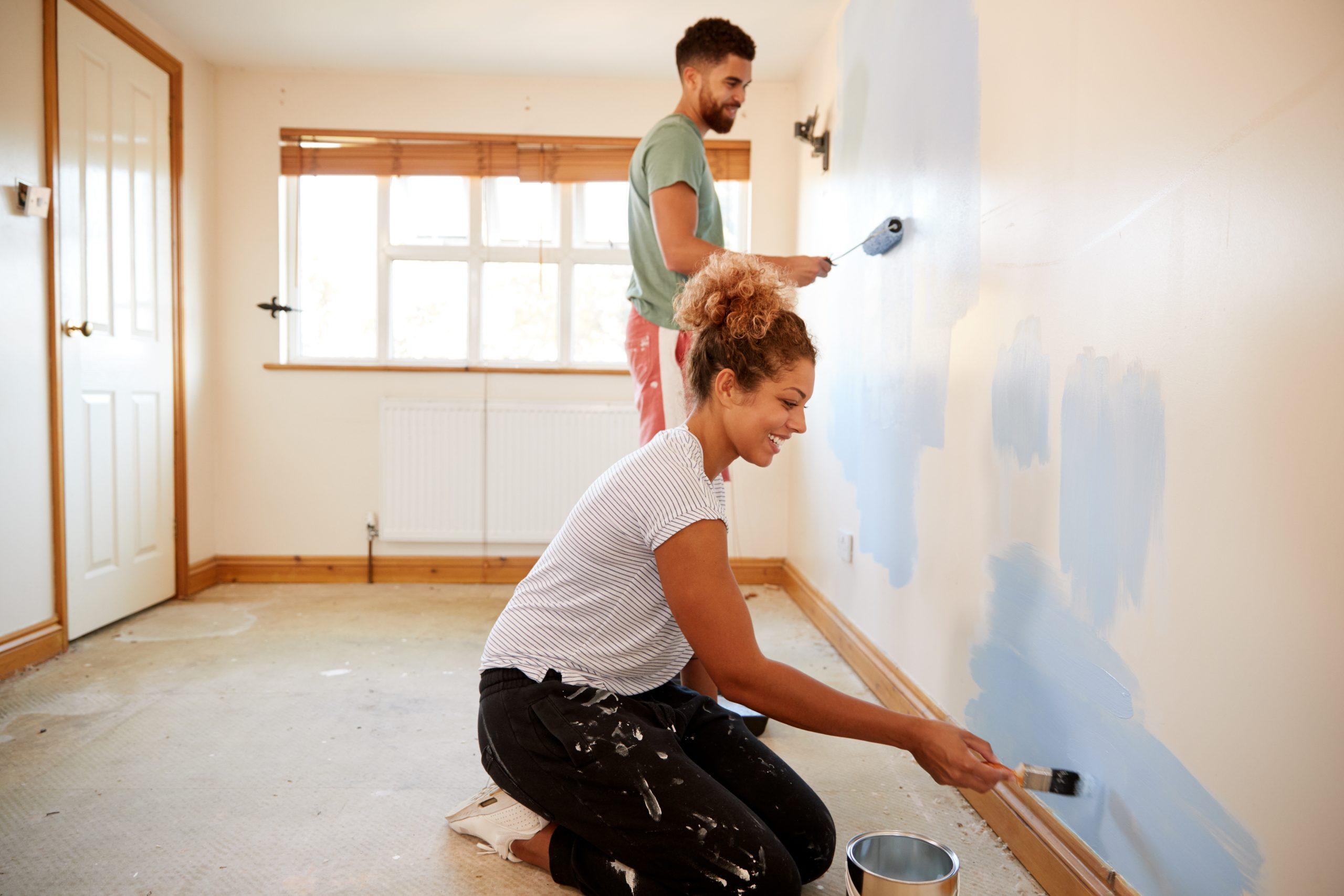 Pintura de parede: dicas para renovar os ambientes