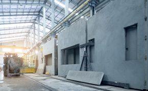 Construção industrializada para edifícios corporativos e residenciais